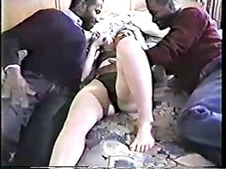 Amazing cuckold porn with mature blonde bitch...